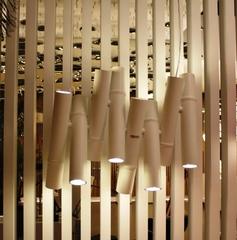 подвесной светильник WOOD  by KARMAN ( 8 white )