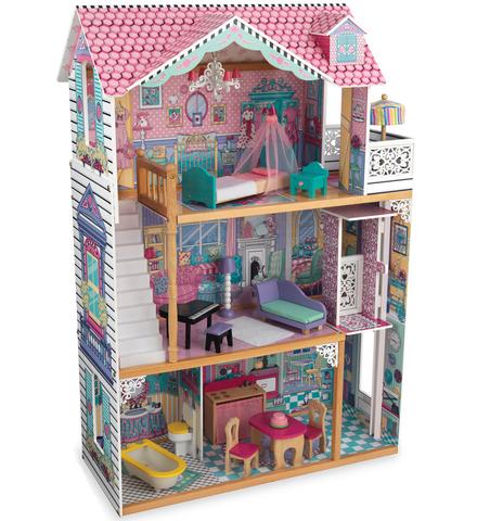 KidKraft Аннабель - кукольный домик с мебелью для Барби 65079_KE
