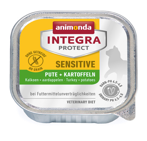 Animonda Integra Protect Cat (ламистер) Sensitive Turkey & Potatoes