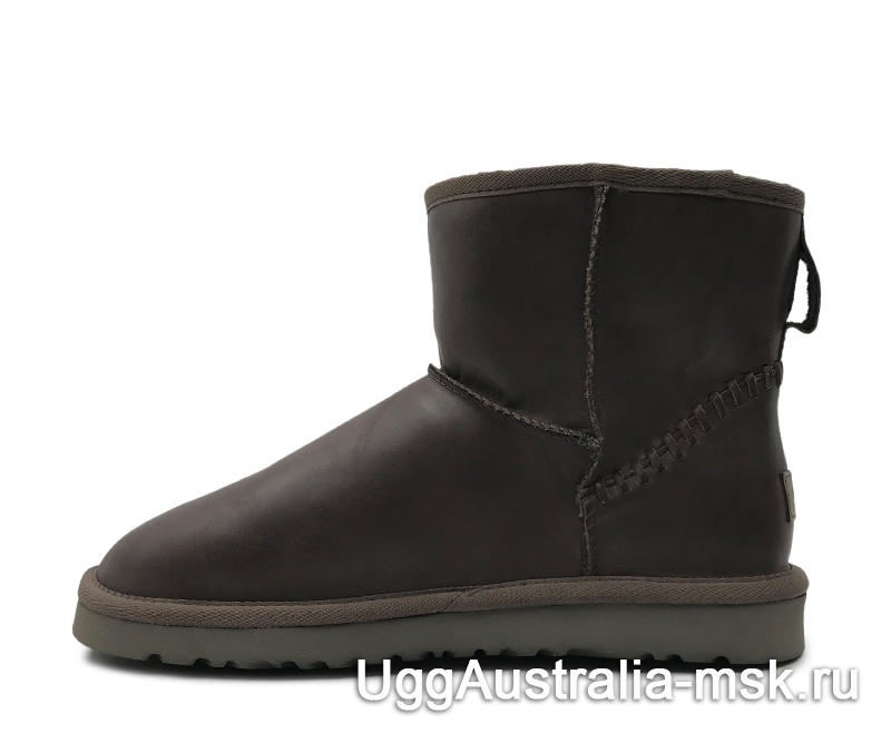 UGG Men's Classic Mini Deco Chocolate