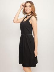 GDR009104 Платье женское. черное