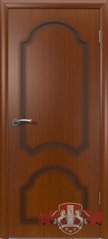 Дверь Владимирская фабрика дверей Кристалл 3ДГ2, цвет макоре, глухая