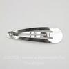 Основа для заколки клик-клак, 49х13 мм (цвет - никель)