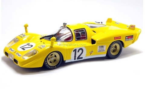 Ferrari 512S yellow 1:43 Eaglemoss Ferrari Collection #49