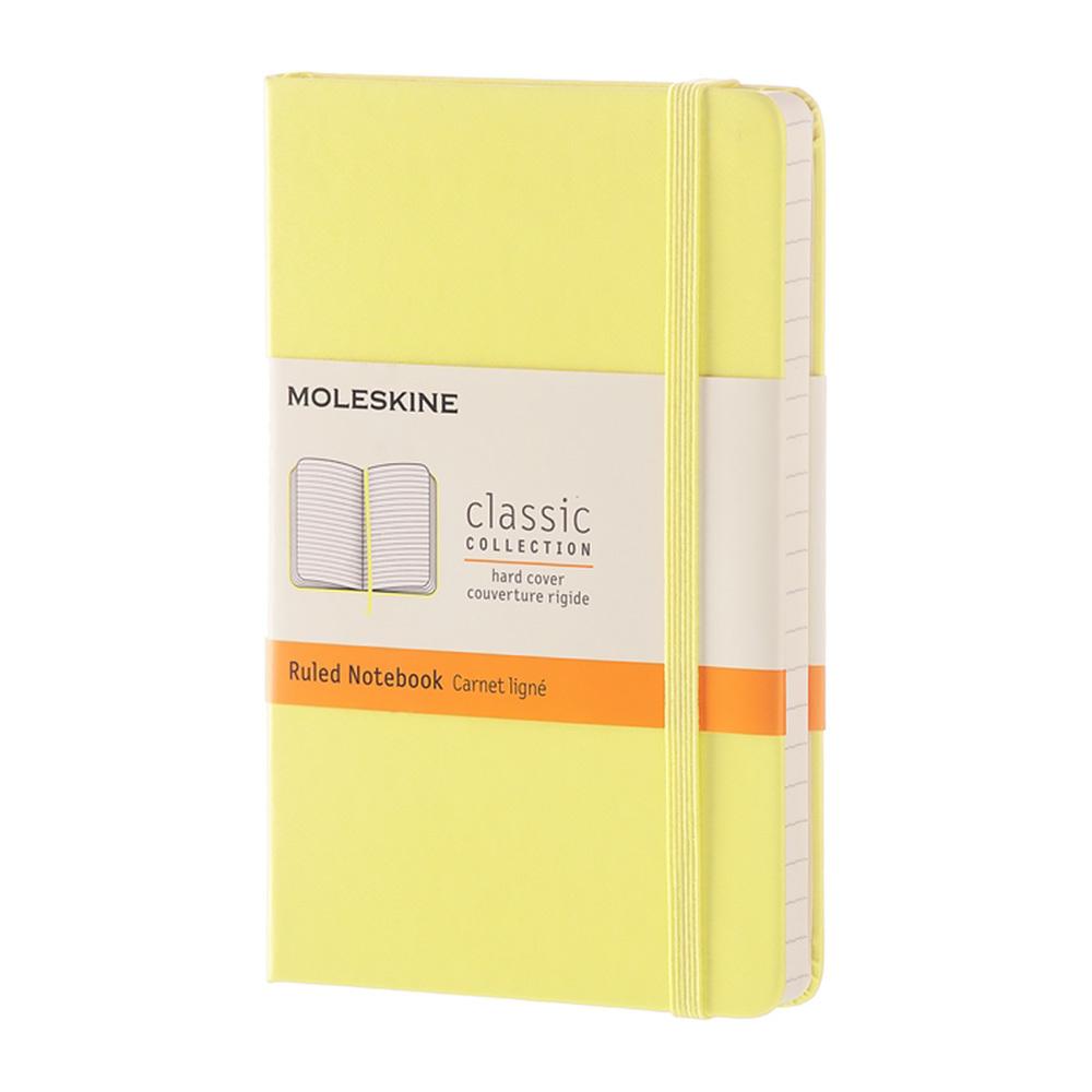 Блокнот Moleskine Classic Pocket, цвет желтый, в линейку