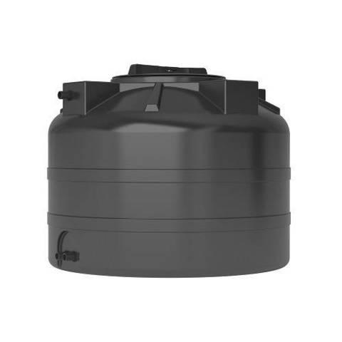 Бак для воды АКВАТЕК ATV 200 (с поплавком, цвет чёрный)