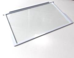 Полка стеклянная с обрамлением АРИСТОН ИНДЕЗИТ СТИНОЛ 52 х 31 см
