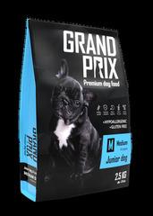 Сухой корм для щенков собак средних пород, Grand Prix Medium Junior