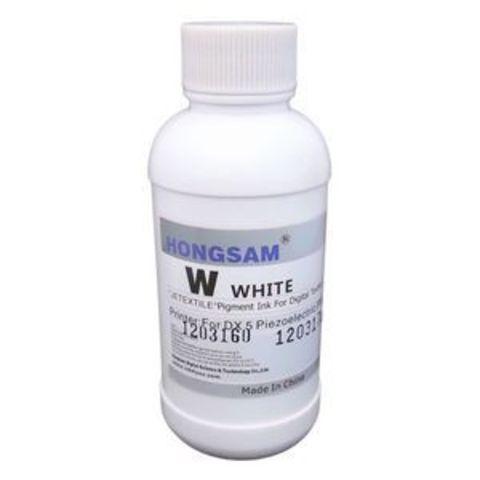 DCTec Textil-W текстильные чернила White (белый) 200 мл (800150-W-200)