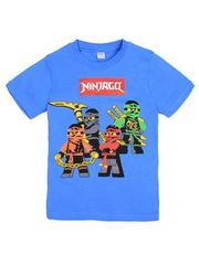 D002-2 футболка для мальчиков, синяя