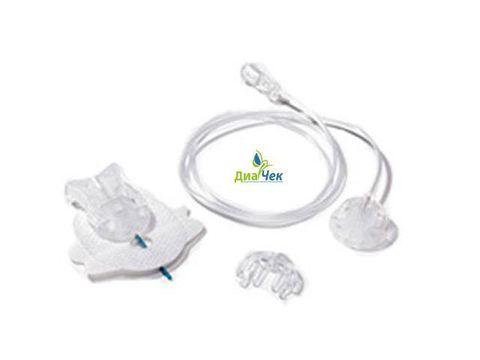Набор инфузионный Акку-Чек Тендер Линк 17/60  (длина иглы 17 мм, длина катетера 60 см)