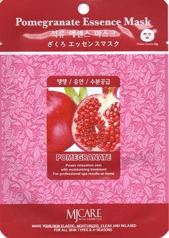 MIJIN Маска тканевая гранат Pomegranate Essence Mask