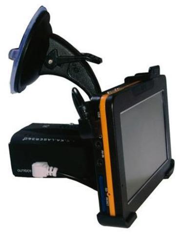 Навигатор с антирадаром Arena Pro 7500