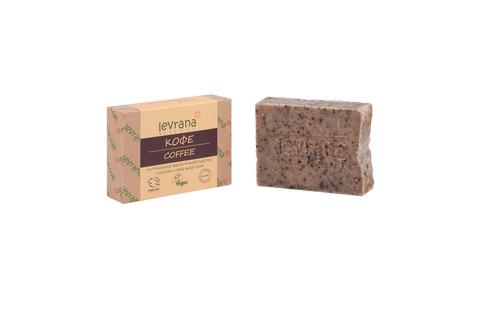 Levrana, Кофе, натуральное мыло, 100 г