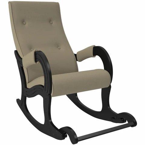 Кресло-качалка Комфорт Модель 707 венге/Montana 904, 013.707