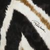 Постельное белье 2 спальное евро макси Roberto Cavalli Zebrato 001 nero-beige черное