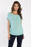 Блузка 01519 зеленый
