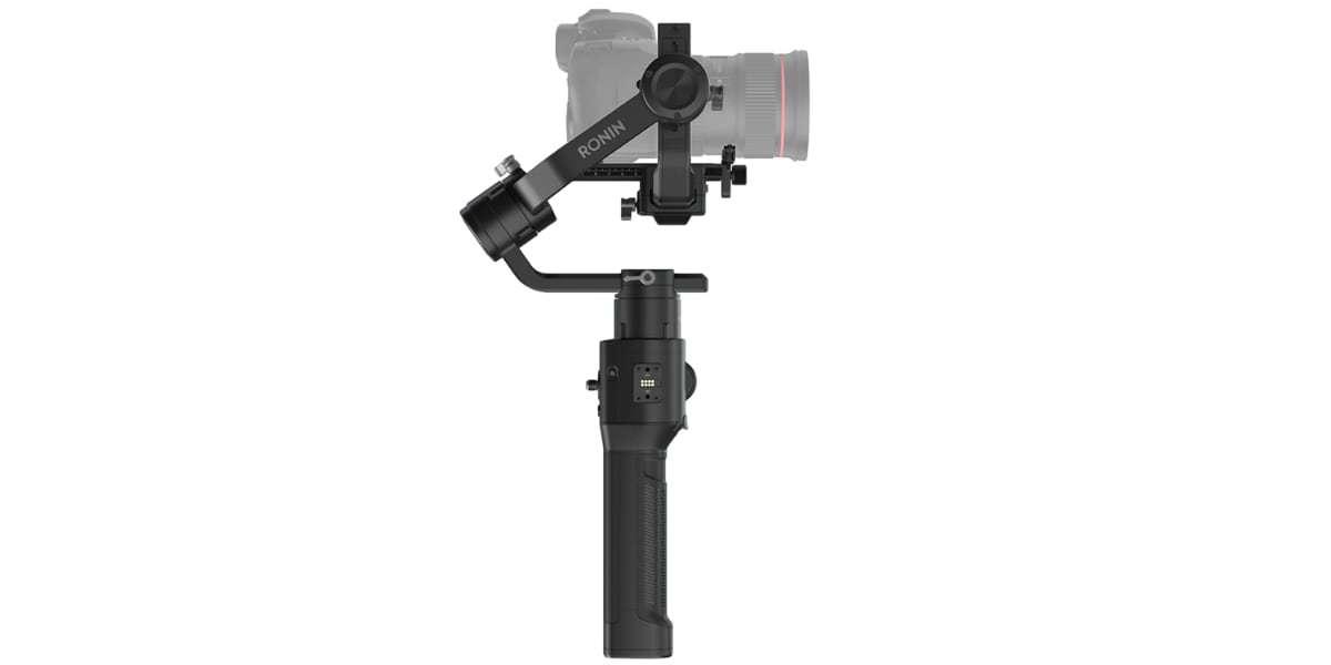 Ручной стабилизатор DJI Ronin-S вид с камерой