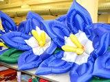 Надувные цветы