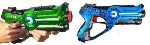 Комплект из двух пистолетов для лазертага