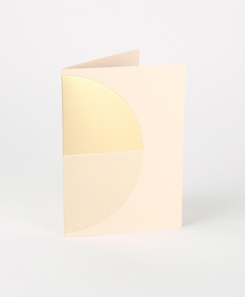 Открытка Reflex Card Brass & Nude