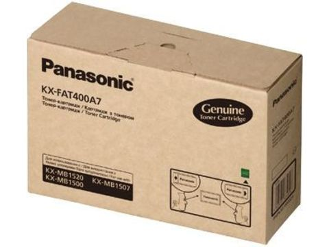 Тонер картридж Panasonic KX-FAT400A для KX-MB1500/1520RU (1 800 стр)