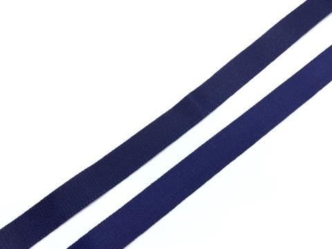 Резинка бретелечная темно-синяя 15 мм Lauma