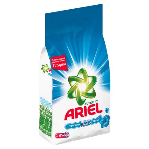 """Стиральный порошок """"Ariel"""" автомат Touch of Lenor Fresh 3000г"""
