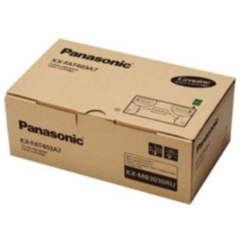 Тонер картридж Panasonic KX-FAT403A7 для Panasonic KX-MB3030 (8000 стр)