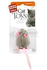 Gigwi игрушка для кошек Мышь с электронным чипом