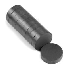 Магнит 20х3 мм, феррит, диск