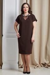 Платье Инесса шоколад