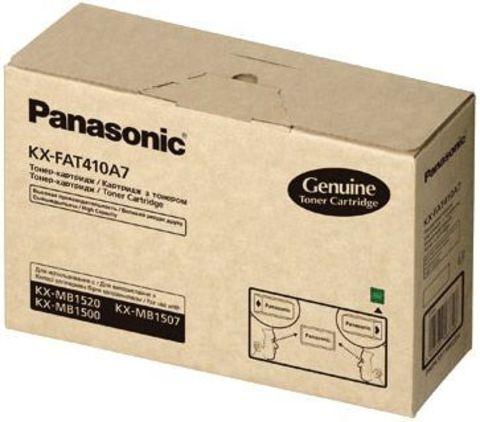 Тонер картридж повышенной ёмкости Panasonic KX-FAT410A для KX-MB1500/1520RU (2 500 стр)