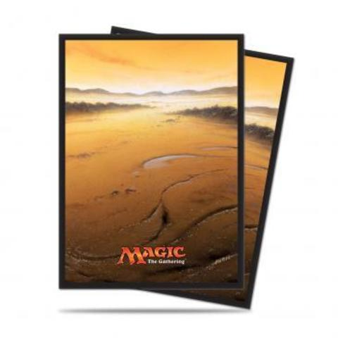 Mana 5 Plains Standard Deck Protector sleeves for Magic 80ct