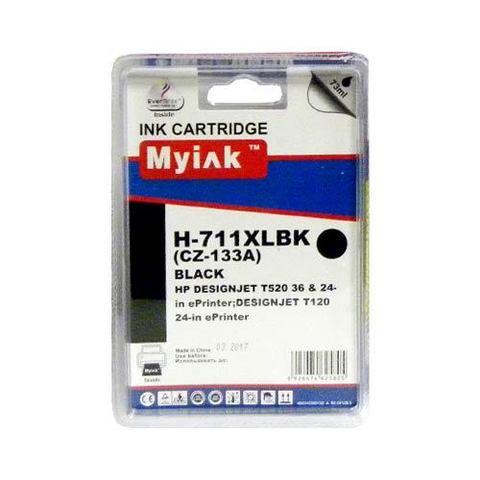 Картридж MyInk CZ133A № 711 Black для Hewlett Packard DesignJet T120/520