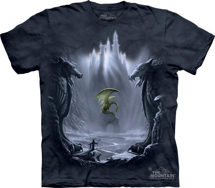 Футболка Mountain с изображением дракона - Lost Valley
