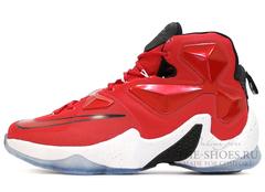 Мужские Кроссовки Nike Lebron XIII Red White