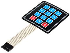 Клавиатура 4×3 кнопки