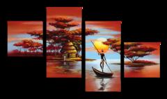 """Модульная картина """"Африканская мечта"""""""
