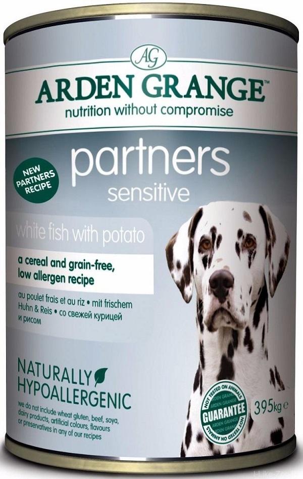 Каталог Консервированный корм для собак, Arden Grange Partners Fish & Potato, с белой рыбой и картофелем AG825016.jpg
