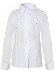 0337 блузка детская, белая