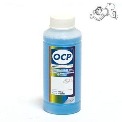 OCP CCF - жидкость для промывки СНПЧ для EPSON (светло-голубая) 100 gr