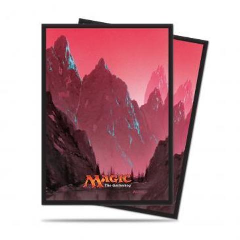 Mana 5 Mountain Standard Deck Protector sleeves for Magic 80ct
