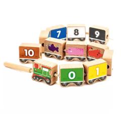 Игрушки из дерева Деревянная шнуровка