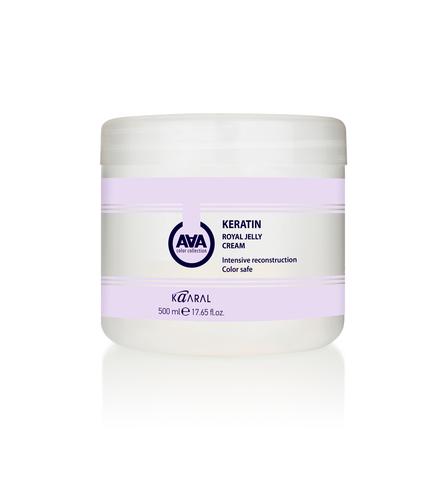 Крем-Маска ААА Каарал кератиновая питатетльная для окрашен волос 500мл