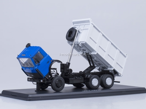 MAZ-5516 tipper blue-gray Start Scale Models (SSM) 1:43