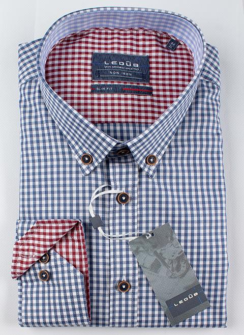 Рубашка Ledub slim fit 0137318-180-130-480