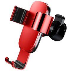 Автомобильный держатель для телефона в дефлектор Baseus Metal Age Gravity