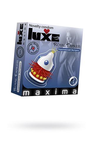 Презервативы Luxe Maxima Королевский экспресс №1 фото