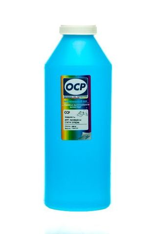 OCP CCF - жидкость для промывки СНПЧ для EPSON (светло-голубая) 1000 gr